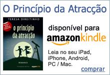 O Princípio da Atracção, livro em português para Kindle, disponível na Amazon